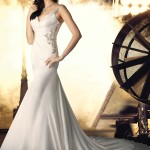 بالصور أحدث فساتين زفاف للعروس الممتلئة 2014