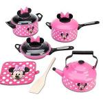 إعطي مطبخك لمسة أنثوية مع اطقم الحلل الوردية