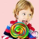 الحلوى ليست وسيلة مناسبة لمواساة الطفل!