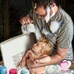 تحذير: لا تتركي أطفالك في يد أبيهم