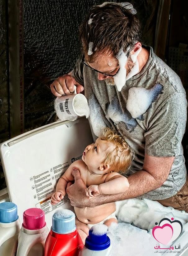 تحذير لا تتركي أطفالك في يد أبيهم