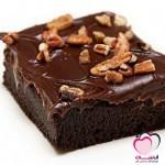 براونيز الشوكولاتة بالفدج