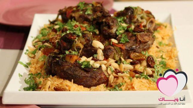 حنيذ اللحم طبق خليجي مميز