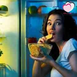 كيف أمنع نفسي من الأكل في الليل