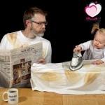 أفضل أب في العالم: صور مدهشة وطريفة لطفلة ووالدها أثناء حياتهم اليومية